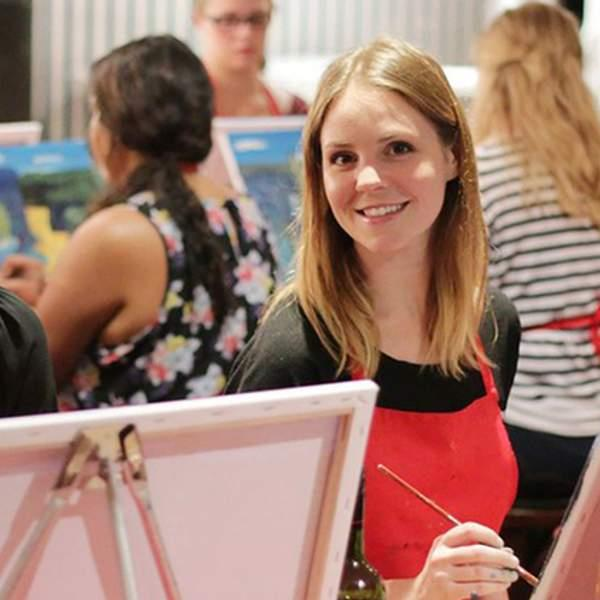 Paint, create, and have a blast with a two-hour social painting workshop from Life with Paint, held in...