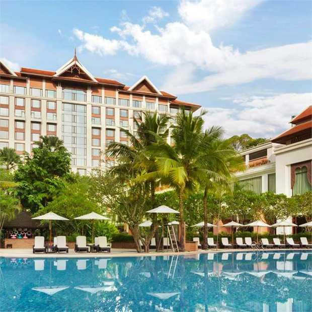 Discover the ancient Thai beauty of Chiang Mai at Shangri-La Hotel, Chiang Mai – an enchanting urban...