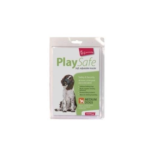 "Yours Droolly ""Play Safe"" Soft Dog Muzzle [Size: Medium]"