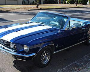 Experience the power and class of driving a 1967 Mustang GT350 around Adelaide and surrounds with this...