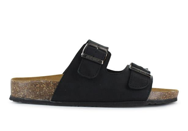 The Thesis Uomo is a combination cork and suede dual buckle sandal with premium leathers handcrafted in...