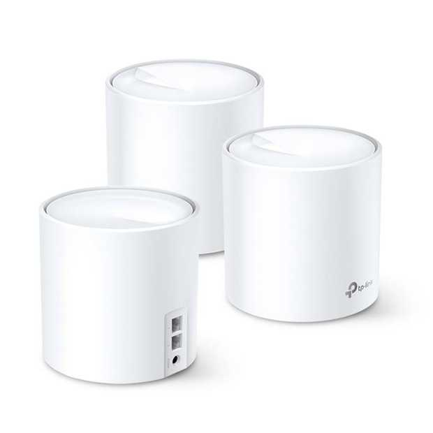 Wi-Fi 6 speeds up to 3,000 Mbps OFDMA and MU-MIMO technology Home coverage of up to 650 m² Ultra-low...