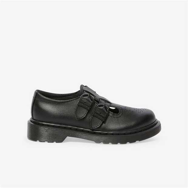 A quintessential grade-school look, the iconic Dr. Martens 8065 Mary Jane silhouette is reinvented here...