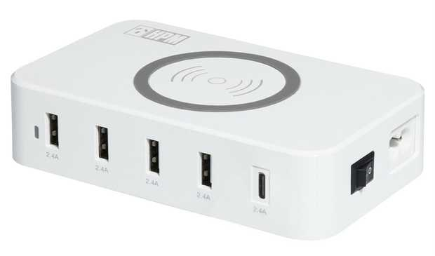 Fast & smart Allows up to 6 devices to charge simultaneously Automatically detects power required to...