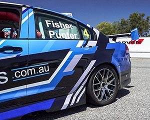 For the ultimate race car experience ride in the back seat of a V8 race car for three thrilling hot...