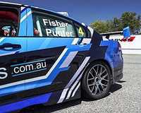 For the ultimate race car experience ride in the front seat of a V8 race car for five thrilling hot...