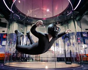 Feel the thrill of two indoor skydiving flights at iFLY Perth equivalent to freefalling from 14,000ft.