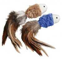 KONG Naturals Crinkle Fish Catnip Cat Toys - 2-Pack