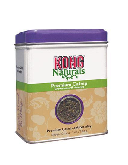 KONG Naturals Catnip Pure North American Dried Catnip 28gm Tin