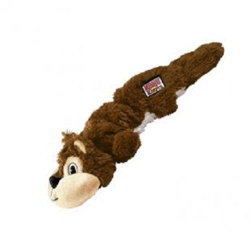 KONG Scrunch Knots No Stuffing Dog Toy Squirrel - Large