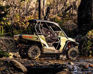 Buckle up for an exhilarating 4x4 ATV adventure! Thunder along bush tracks and wind through eucalypt...