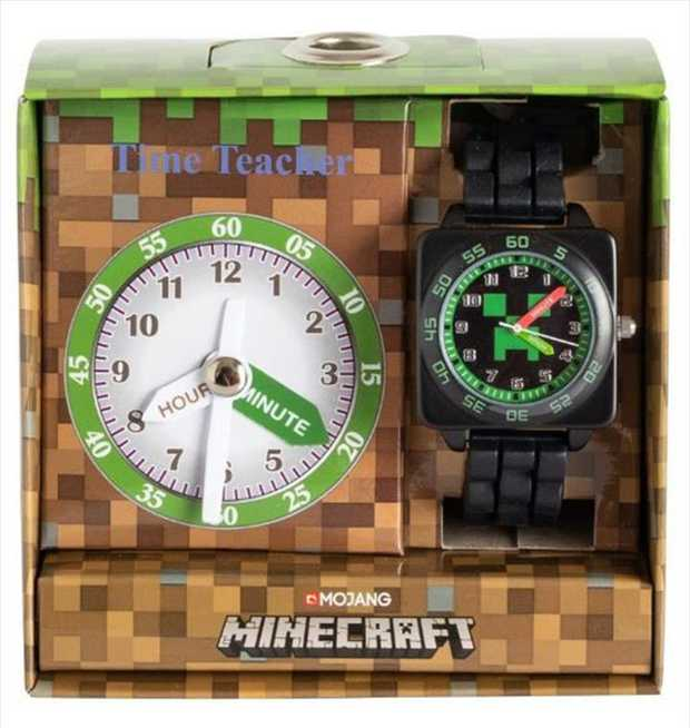 Your children can learn how the tell the time with our new Minecraft Time Teacher.  Stainless steel...