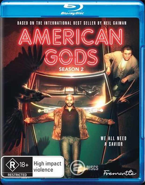 American Gods - Season 2 Blu-Ray      OMGIn season two, the battle...