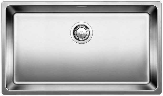 53L capacity bowl Inset flushmount installation 18/10 Surgical Grade Stainless Steel Tight radius...