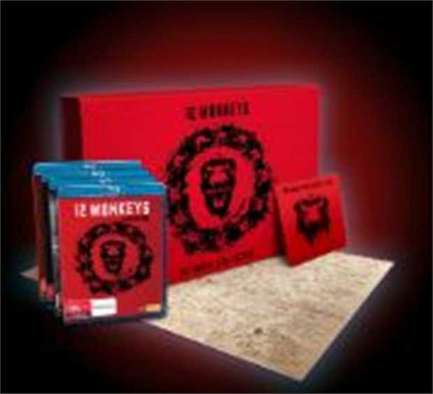12 Monkeys - Complete Deluxe Edition Blu-Ray         Sacrifice the past...