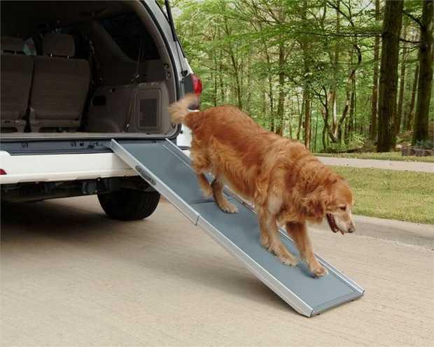 Happy Ride Solvit Deluxe Telescopic Dog Ramp - X Large up to 221cm