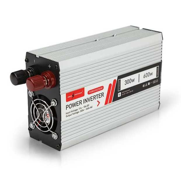 With the GENPOWER pure-sine-wave power inverter, you can plug and play house anywhere in the world.
