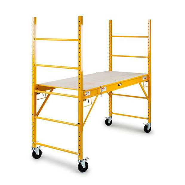 Elevate your work to the next level with theNEW Baumr-AG Mobile Adjustable Scaffold.This heavy-duty...