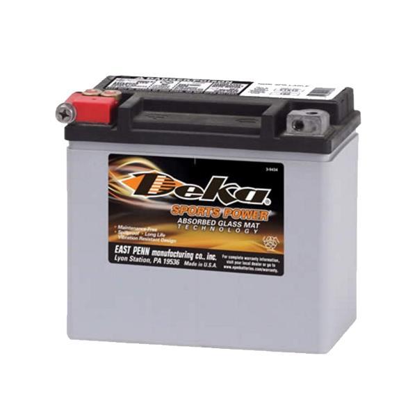 ETX14 Deka Power Sports AGM BatteryNote: YTX14-BSSpecification:CCA220Ah C2012RC @25min5.4Weight Kg5.4L...