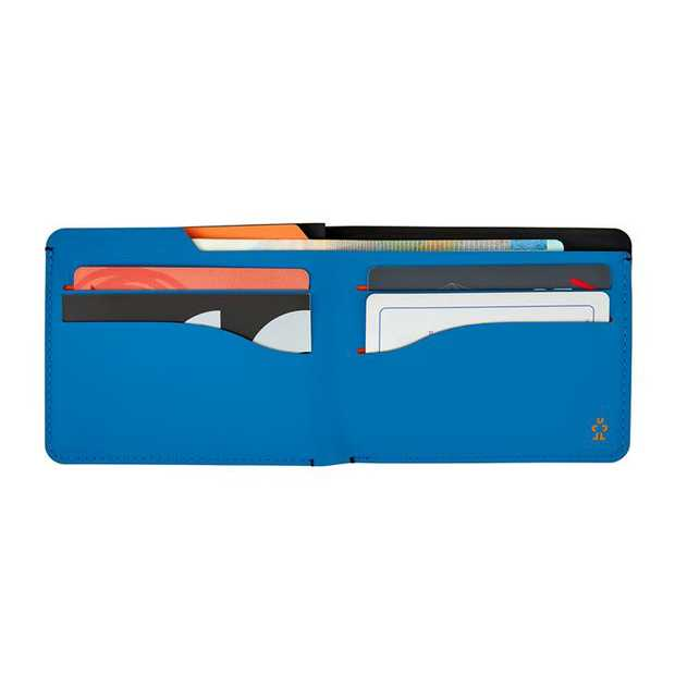 The Stolid offers the classic bi-fold wallet shape in smooth touch and cool aesthetics. Made from matt...