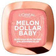 Wake up and makeup with L'Oréal Paris Melon Dollar Baby Blush! The perfect blush powder to softly...