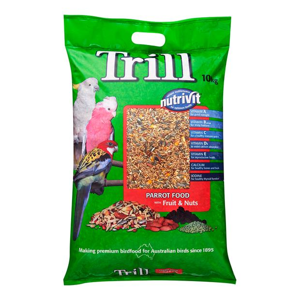 Trill Parrot Mix 10kg Pet: Bird Category: Bird Supplies  Size: 10kg  Rich Description: Trill has been...