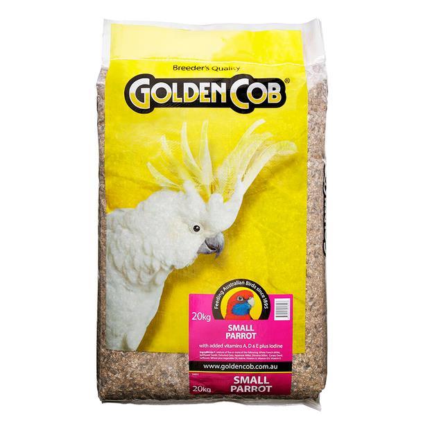 Golden Cob Small Parrot Mix 20kg Pet: Bird Category: Bird Supplies  Size: 20kg  Rich Description:...