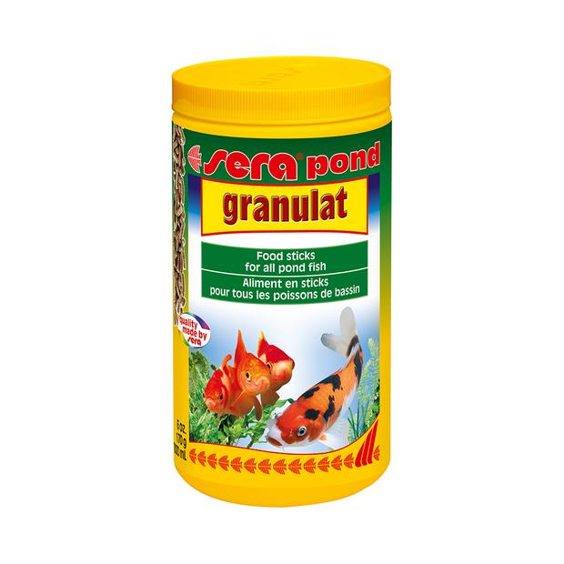 Sera Pond Granulat 170g Pet: Fish Category: Fish Supplies  Size: 0.3kg  Rich Description: Suitable for...