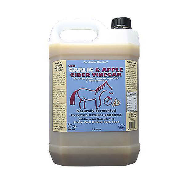 Nrg Garlic And Apple Cider Vinegar 1L Pet: Horse Size: 1.1kg  Rich Description: Suitable for all adult...