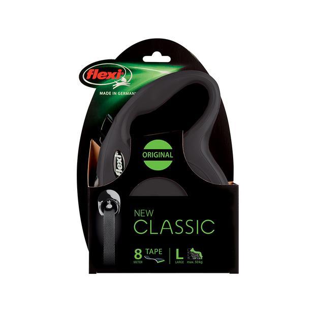 Flexi Classic Tape Black Medium Pet: Dog Category: Dog Supplies  Size: 0.3kg Colour: Black  Rich...