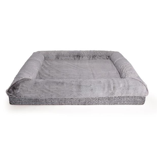Kazoo Dog Bed Wombat Grey Medium Pet: Dog Category: Dog Supplies  Size: 17.4kg Colour: Grey Material:...