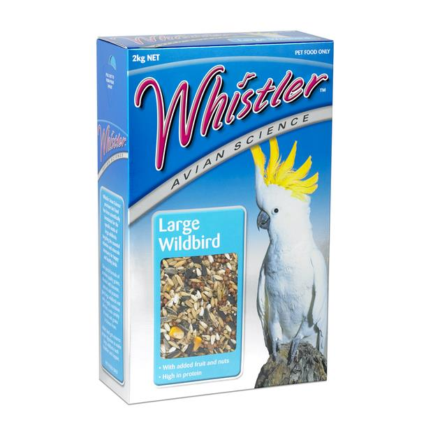 Whistler Avian Science Large Wildbird 2kg Pet: Bird Category: Bird Supplies  Size: 2kg  Rich...