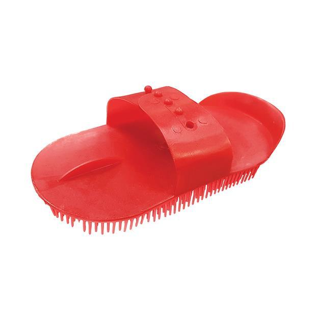 Zilco Sarvis Curry Comb Each Pet: Horse Size: 0.1kg Colour: Red  Rich Description: Originating in...