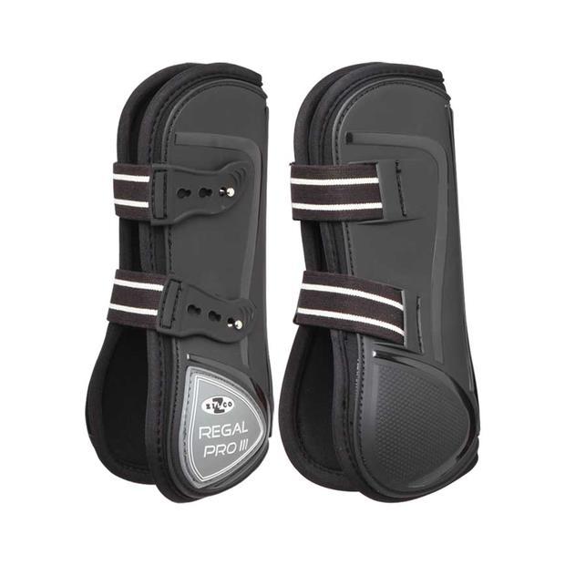 Zilco Regal Pro Mk3 Fetlock Boots Large Pet: Horse Size: 0.5kg Colour: Black  Rich Description:...