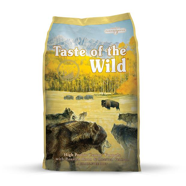 Taste Of The Wild High Prairie Bison Venison 5.6kg Pet: Dog Category: Dog Supplies  Size: 6kg  Rich...