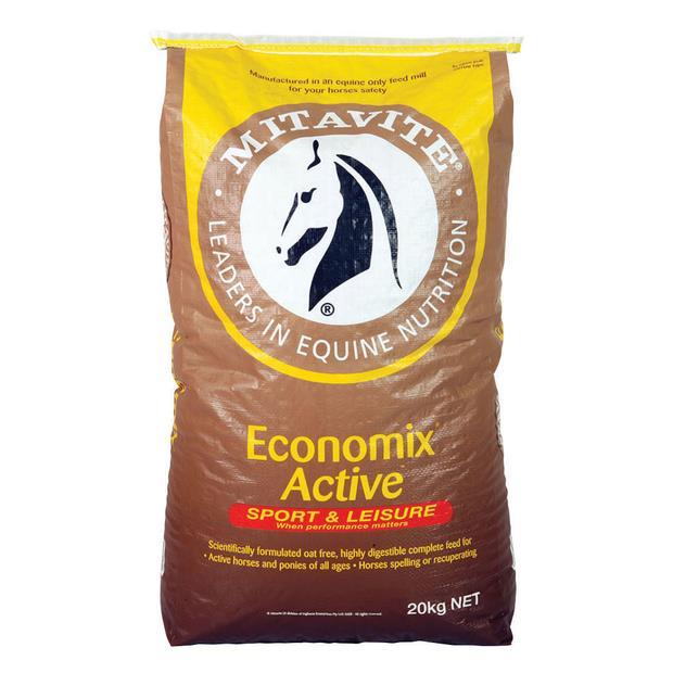 Mitavite Economix Active 40kg Pet: Horse Size: 40kg  Rich Description: Suitable for horses and ponies...