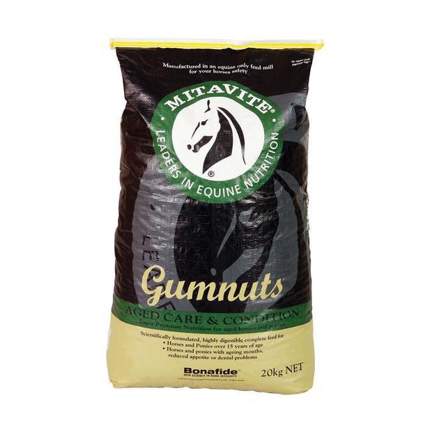 Mitavite Gumnuts 40kg Pet: Horse Size: 40kg  Rich Description: Suitable for aged horses and ponies...