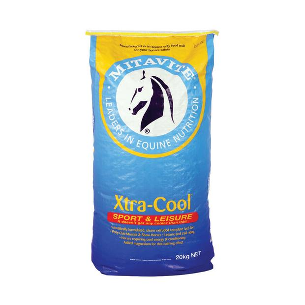Mitavite Xtra Cool 40kg Pet: Horse Size: 40kg  Rich Description: Suitable for horses and ponies in...