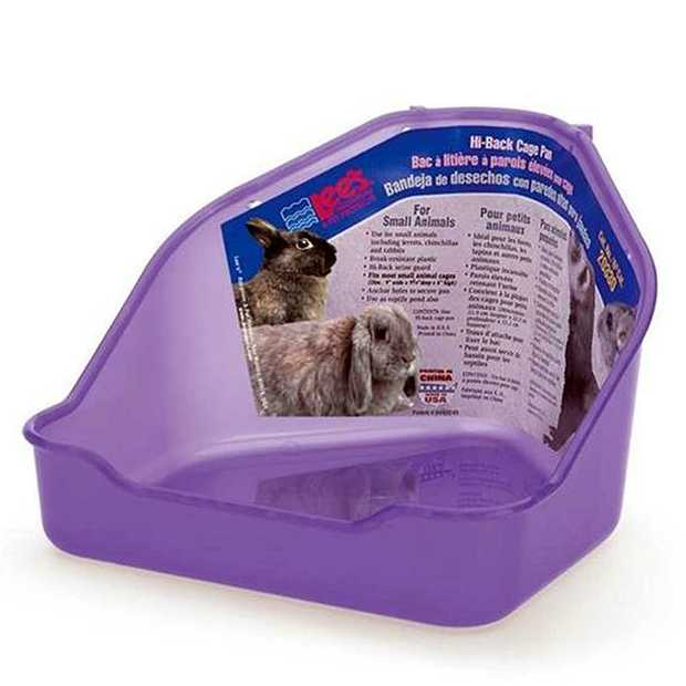 Lees Hi Back Corner Toilet Each Pet: Small Pet Category: Small Animal Supplies  Size: 0.2kg  Rich...