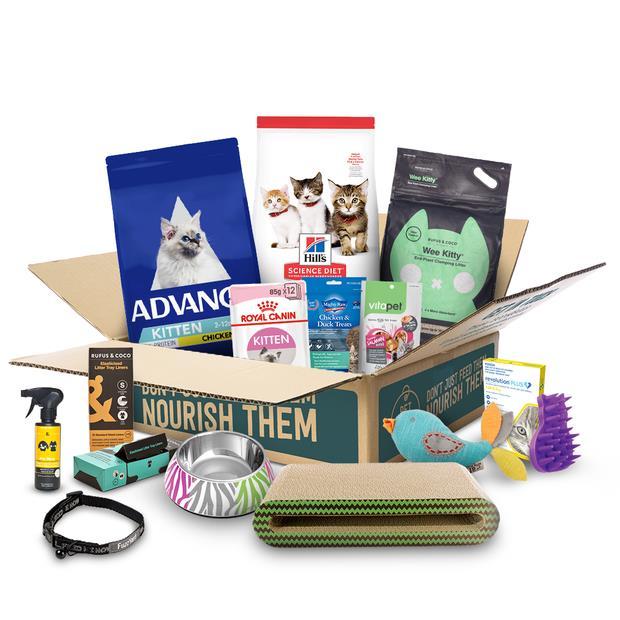 The Kitten Starter Box Each Pet: Cat Category: Cat Supplies  Size: 6kg  Rich Description: Are you...