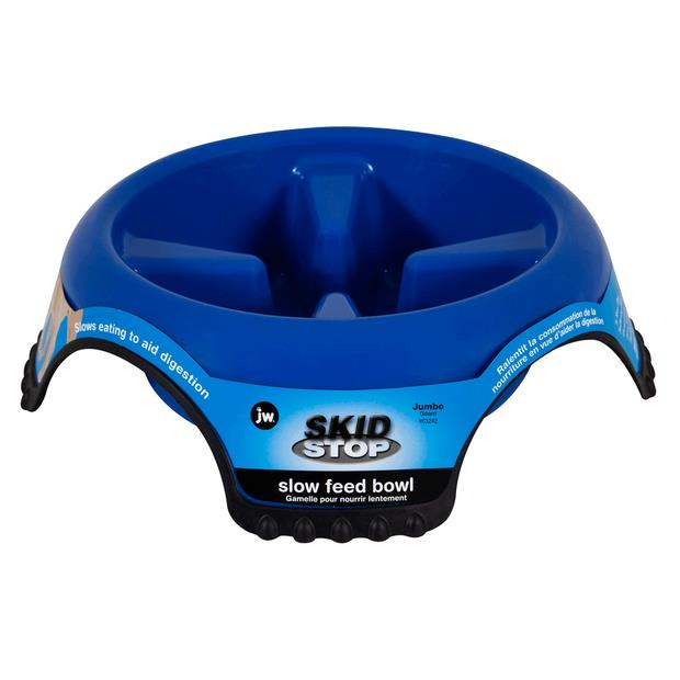 Jw Pet Skid Stop Slow Feed Bowl Medium Pet: Dog Category: Dog Supplies  Size: 0.7kg  Rich Description:...