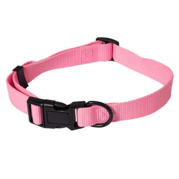 Aspen Pet Dog Collar Glow In The Dark Pink Medium Pet: Dog Category: Dog Supplies  Size: 0kg Colour:...