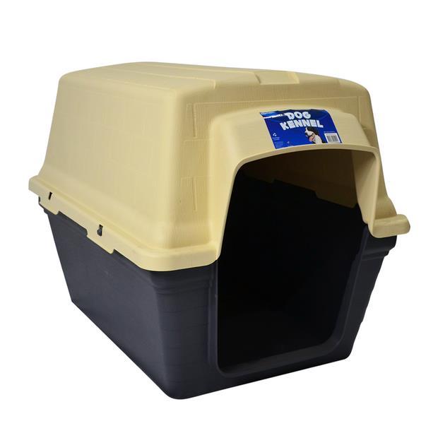 Playmate Kennel Plastic Medium Pet: Dog Category: Dog Supplies  Size: 7kg Colour: Beige  Rich...