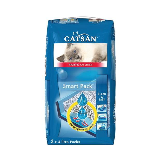 Catsan Smart Pack 4kg Pet: Cat Category: Cat Supplies  Size: 4kg Material: Silica  Rich Description:...