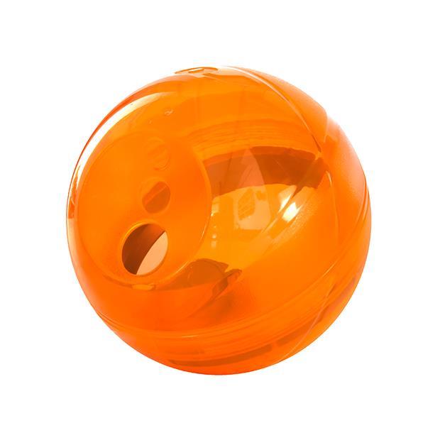 Rogz Treat Dispenser Tumbler Orange Each Pet: Dog Category: Dog Supplies  Size: 0.4kg Colour: Orange...