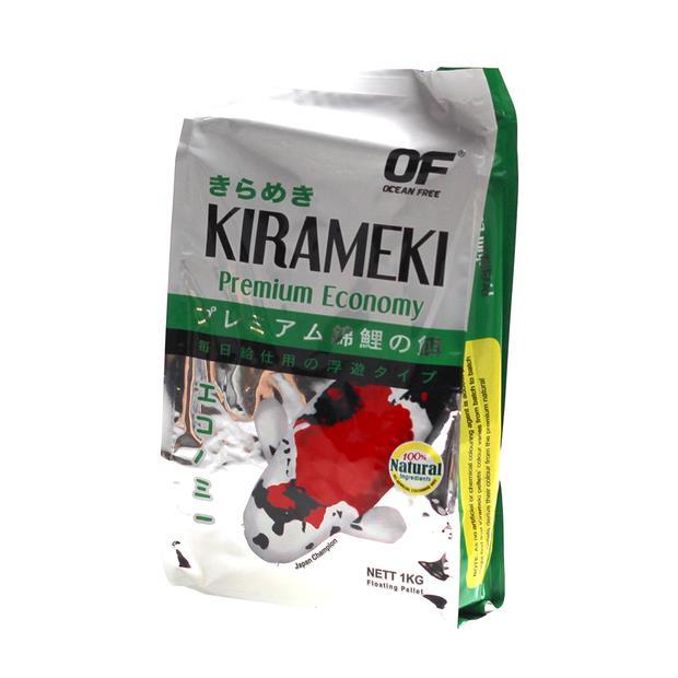 Ocean Free Kirameki Premium Economy Koi Pond Pellet Mini 1kg Pet: Fish Category: Fish Supplies  Size:...