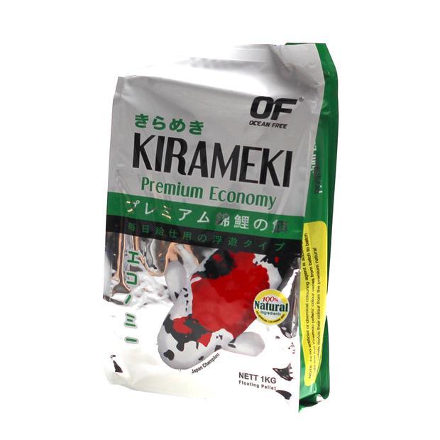 Ocean Free Kirameki Premium Economy Koi Pond Pellet Large 1kg Pet: Fish Category: Fish Supplies  Size:...