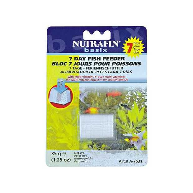 Nutrafin 7 Day Holiday Feeder Treasure Chest Each Pet: Fish Category: Fish Supplies  Size: 0.5kg  Rich...