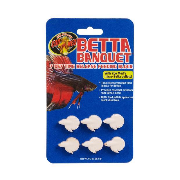 Zoo Med Betta Banquet Block 6 Pack Pet: Fish Category: Fish Supplies  Size: 0.2kg  Rich Description:...