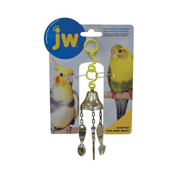 Jw Insight Fork Knife Spoon Each Pet: Bird Category: Bird Supplies  Size: 0kg  Rich Description:...